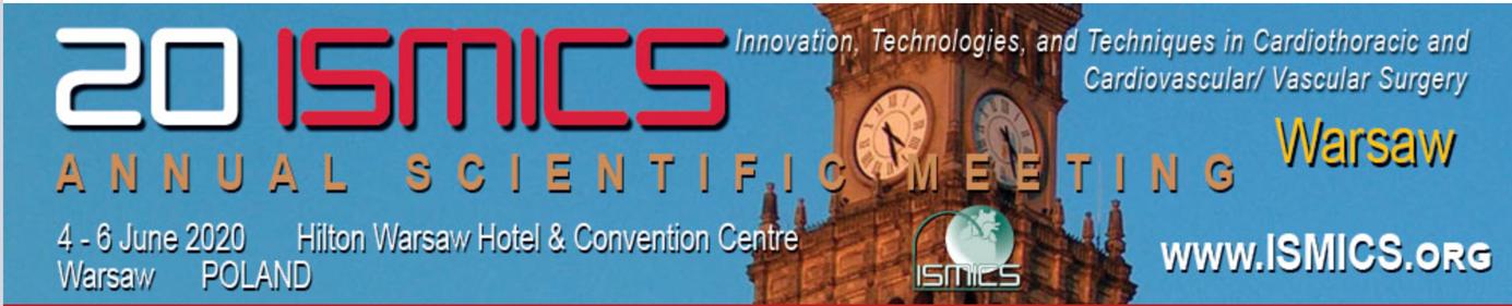 20 ISMICS Annual Scientific Meeting